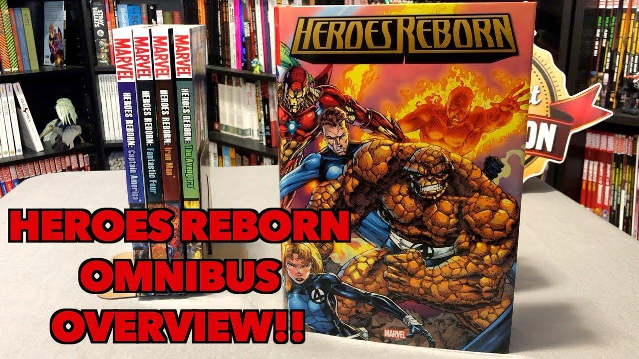 Heroes Reborn Omnibus Overview!!!