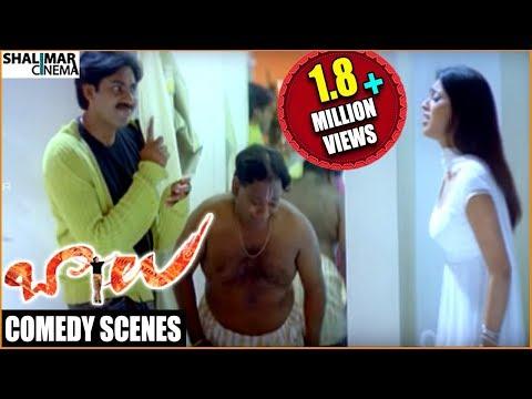 Balu Movie    Pawan Kalyan Back To Back Comedy    Pawan Kalyan, Shriya, Neha Oberoi