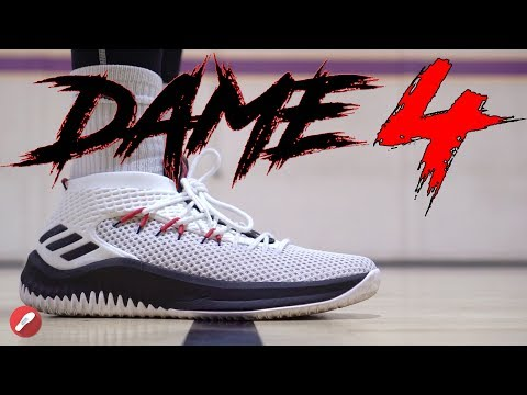 Adidas Dame 4 Performance Review!
