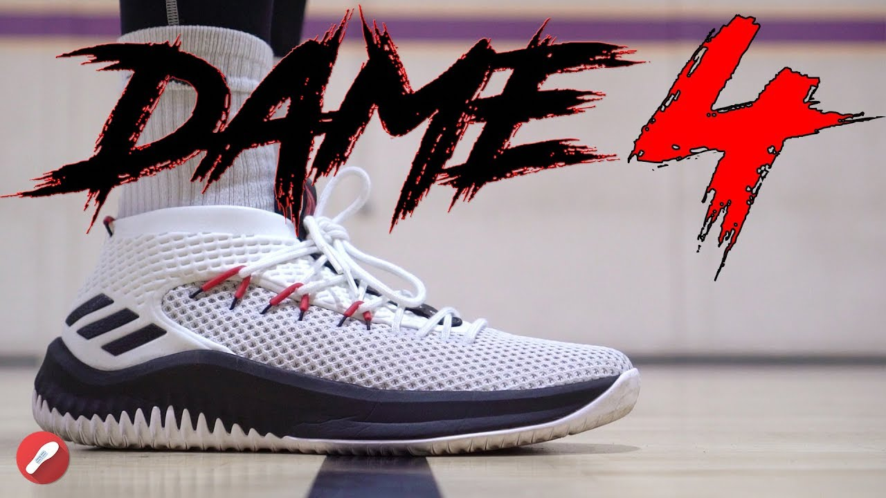 super popular 7bfab 51446 Adidas Dame 4 Performance Review!