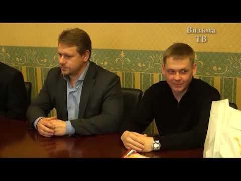 Глава Вяземского района Инна Демидова провела встречу с юными биатлонистами