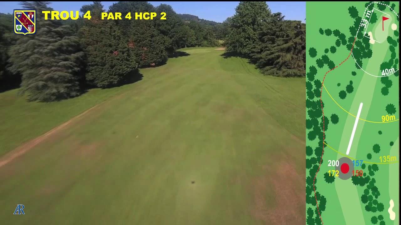 Vidéo du trou numéro 4 | Golf La Barouge Mazamet
