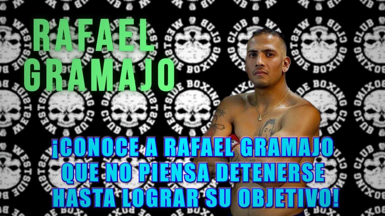 ¡Conoce a Rafael Gramajo que no piensa detenerse hasta lograr su objetivo!