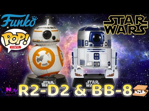 Unboxing Funko POP! Movies Star Wars R2-D2 And BB-8 Bobble Head Vinyl Figures Review!