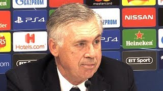 Liverpool 1-0 Napoli - Carlo Ancelotti Post Match Press Conference - Champions League