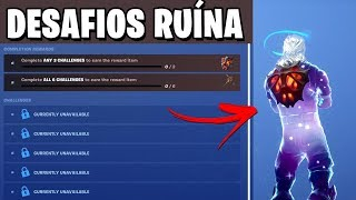 CHALLENGES of the SKIN RUIN-Fortnite Battle Royale
