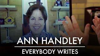 Tout le monde Écrit | MarketingProf Ann Handley | AQ Blog & Grill