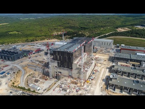 ITER Live : Start of Machine Assembly
