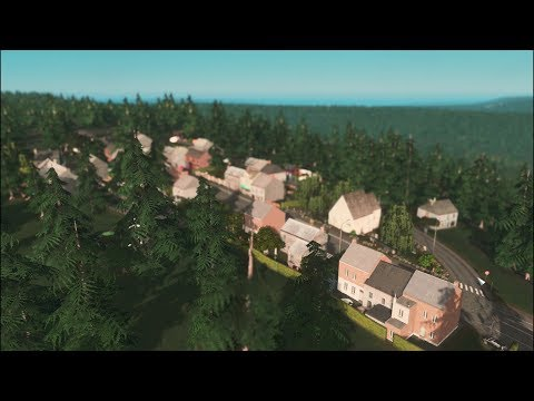 Cities: Skylines - Project Europe, Episode 1, Holz Town, Realistic European Town