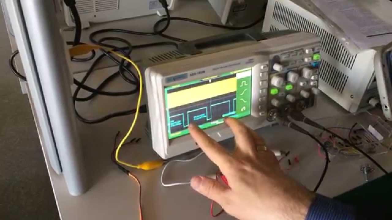 Initial Test Setup for Ultrasonic Sensors