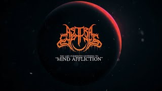 ASTRAL EMPTINESS - MIND AFFLICTION [OFFICIAL LYRIC VIDEO] (2020) SW EXCLUSIVE