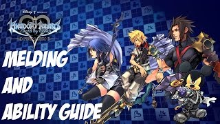 Kingdom Hearts Birth By Sleep Guide - Melding and Abilites