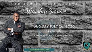 Shiloh Baptist Church: July 26, 2020