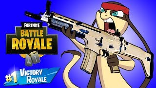 My VERY FIRST VICTORY ROYALE in Fortnite! (Full Match)