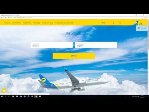 Cheating Of Ukraine International Airlines (UIA)  Www.flyuia.com Part1