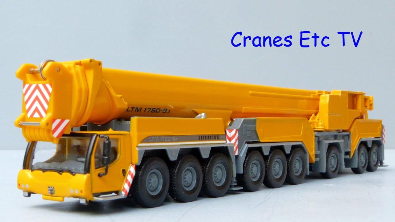 wsi liebherr ltm 1750 9 1 mobile crane by cranes etc tv. Black Bedroom Furniture Sets. Home Design Ideas