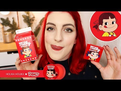 Crash Test : k-beauty ! Peko Chan x Holika Holika 😋 | LOdoesmakeup