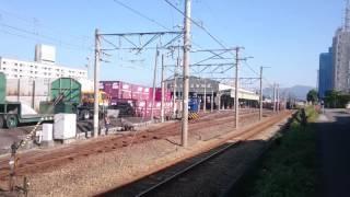 JR貨物 日本通運 構内入れ換え作業