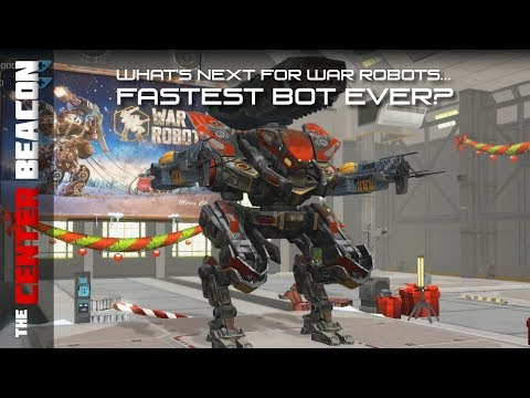 What's Next for War Robots...Fastest Bot Ever?