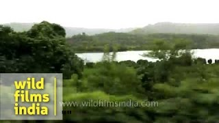 Train passes through Khed, Ratnagiri - Maharashtra