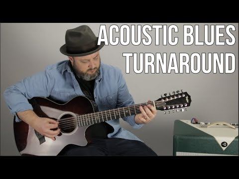 Acoustic Blues Guitar Lesson - Tasty Turnaround