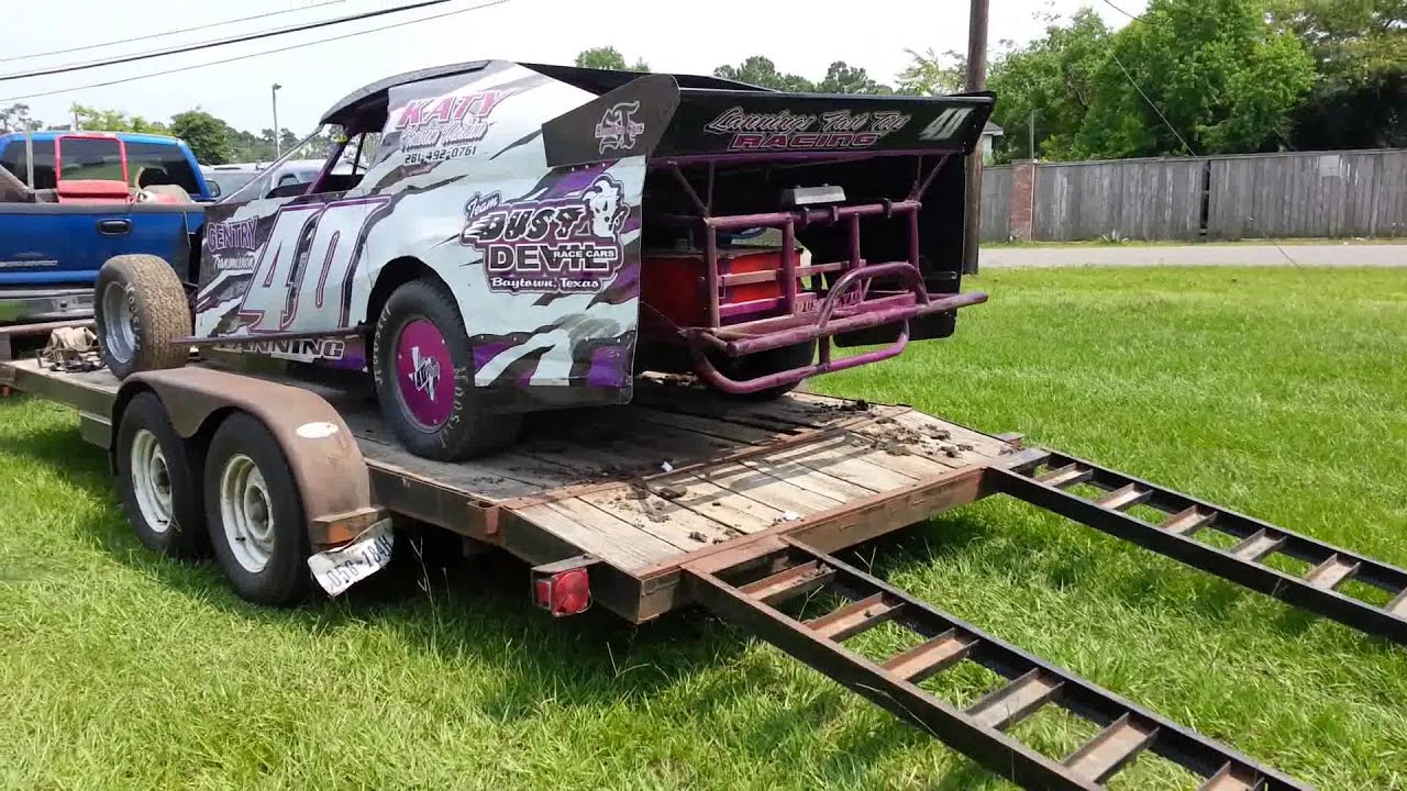 Dust Devil Southern Sport Mod Dirt Track Race Car Youtube