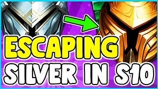 How To Escape Climb Out Of Silver Elo Easy Tips And Tricks League Of Legends Season 10 Youtube