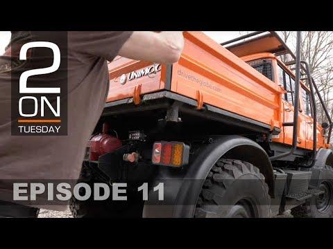 Versatile Mercedes Unimog Cargo System