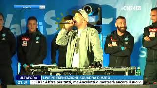 SSC Napoli, la presentazione di Insigne ed Hamsik