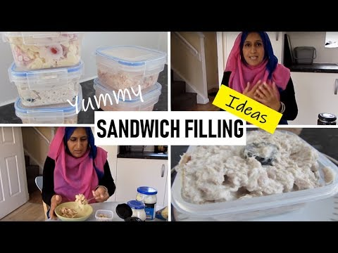 5 YUMMY SANDWICH FILLING IDEAS (HALAL)