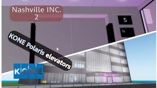 KONE Polaris Full-view elevators - Nashville INC. 2 (Roblox)