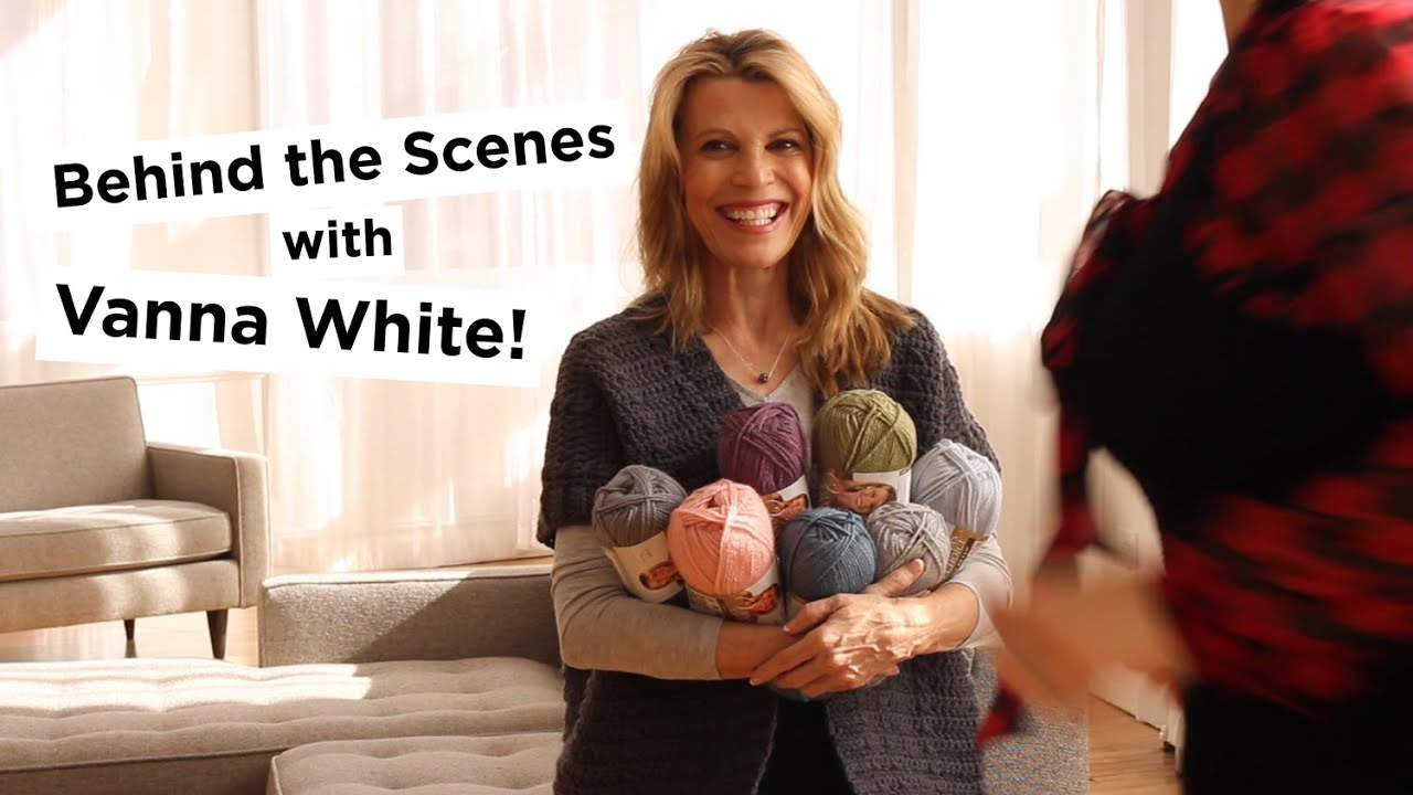Behind The Scenes With Vanna White Youtube