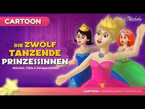 Die Zwölf Tanzende Prinzessinnen kinder geschichte   Märchen für Kinder und Gute Nachtgeschichten