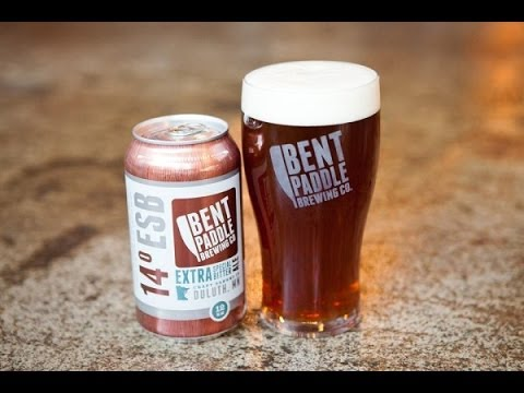 Bent paddle brewing co 14 degrees esb review youtube for Minnesota craft beer festival