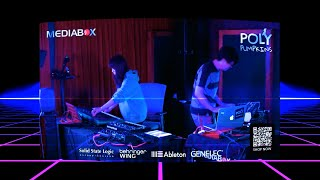 Polypumpkins Live Performance Teaser @ Mediabox HK 2020 || Synthwave Retrowave Chillout DnB 📻