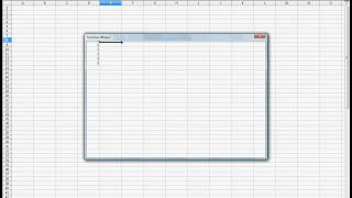 Entering equations in OpenOffice Calc