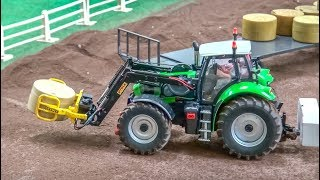 MEGA RC Tractor farming Compilation! 1/32 scale!