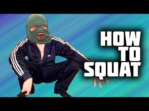 How to squat like slav