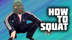 How to squat like Slav