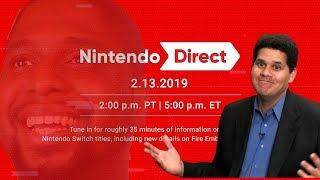 IF I DONT SEE JOKER GAMEPLAY IM THROWING SOMETHING! (Nintendo Direct 2/13/19)