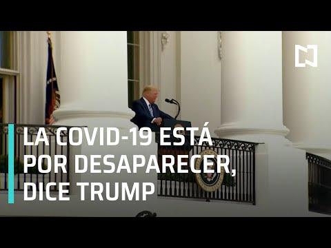 La COVID-19 está por desaparecer, dice Trump, es la paparrucha del día - Punto y Contrapunto