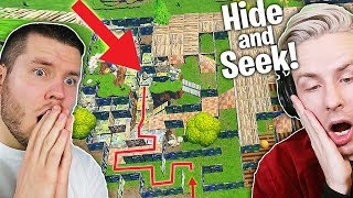 HIDE and SEEK IM MEGA FORTNITE LABYRINTH! Mit StandartSkill!