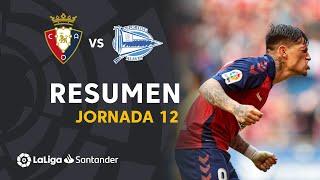 Resumen de CA Osasuna vs Deportivo Alavés (4-2)