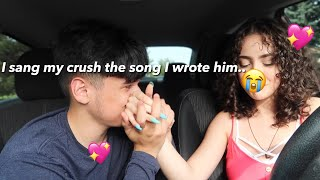 I WROTE A SONG FOR MY CRUSH...*emotional*😭