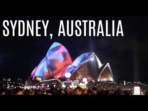 AMAZING! Vivid Lights In Sydney Australia!