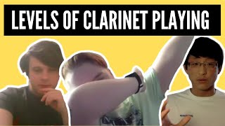 Explaining the Levels of Clarinet Playing (ft. Andrew Coleman)