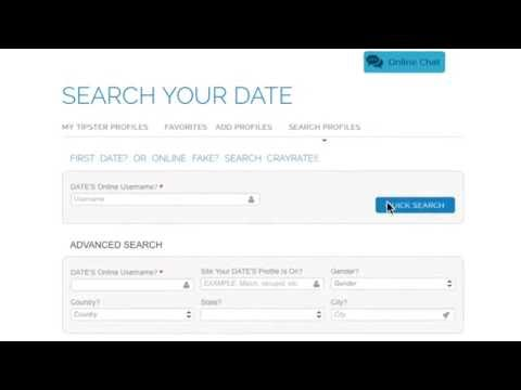 CrayRate.com Search By Dating Site Username - YELP For Online Dating