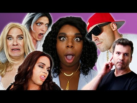 LITTLE MIX VS. FIFTH HARMONY -  Hair  Parody BEHIND THE SCENES