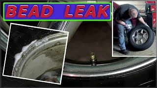 Finding & Repairing A Bead Leak On My Automotive Tires
