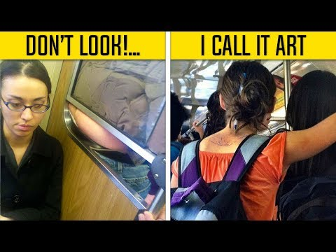 Funny People On Subway Remind You That Life Is Full Of Surprises